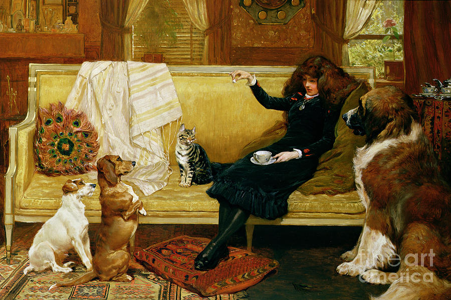Teatime Painting - Teatime Treat by John Charlton