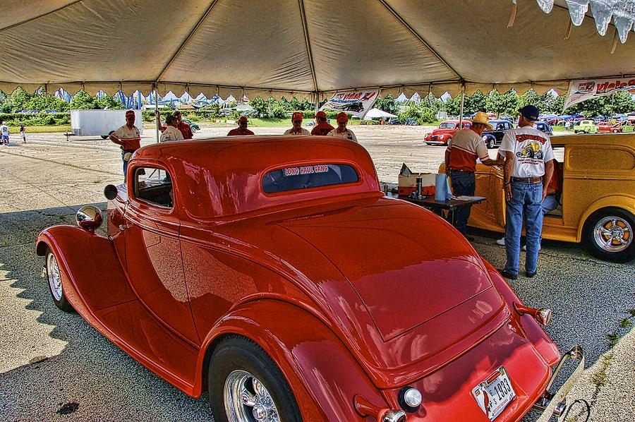 1934 Ford Photograph - Tech Inspection by Nick Roberts