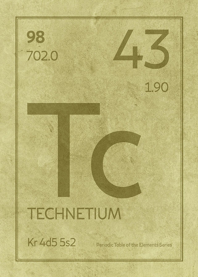 Technetium element symbol periodic table series 043 mixed media by technetium mixed media technetium element symbol periodic table series 043 by design turnpike urtaz Gallery
