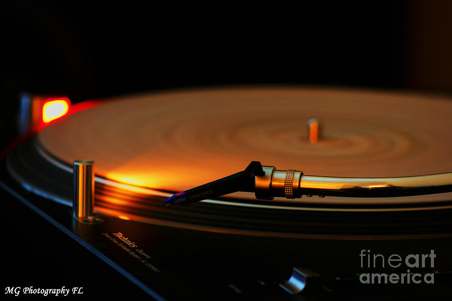 Turntable Photograph - Technics  by Marty Gayler