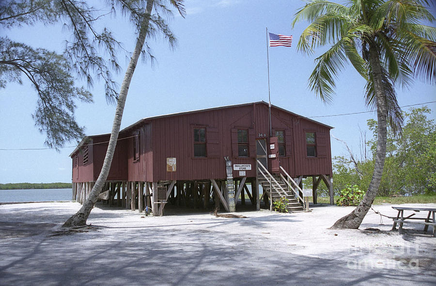 Chokoloskee Island Photograph - Ted Smallwoods Store  by Richard Nickson