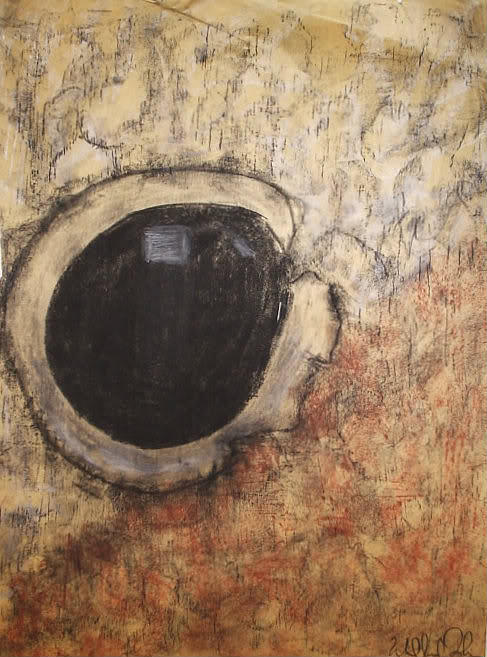 Jr. Drawing - Teddy Bear Eye 2 by William Douglas