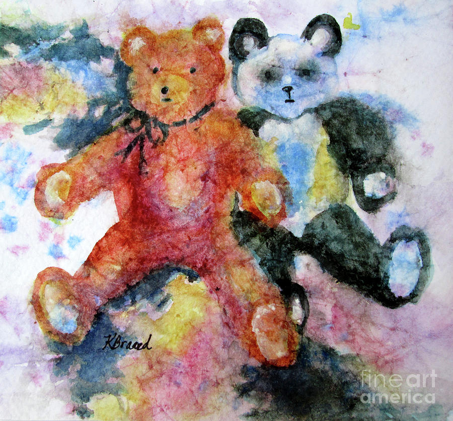 Teddy Bears by Kathy Braud