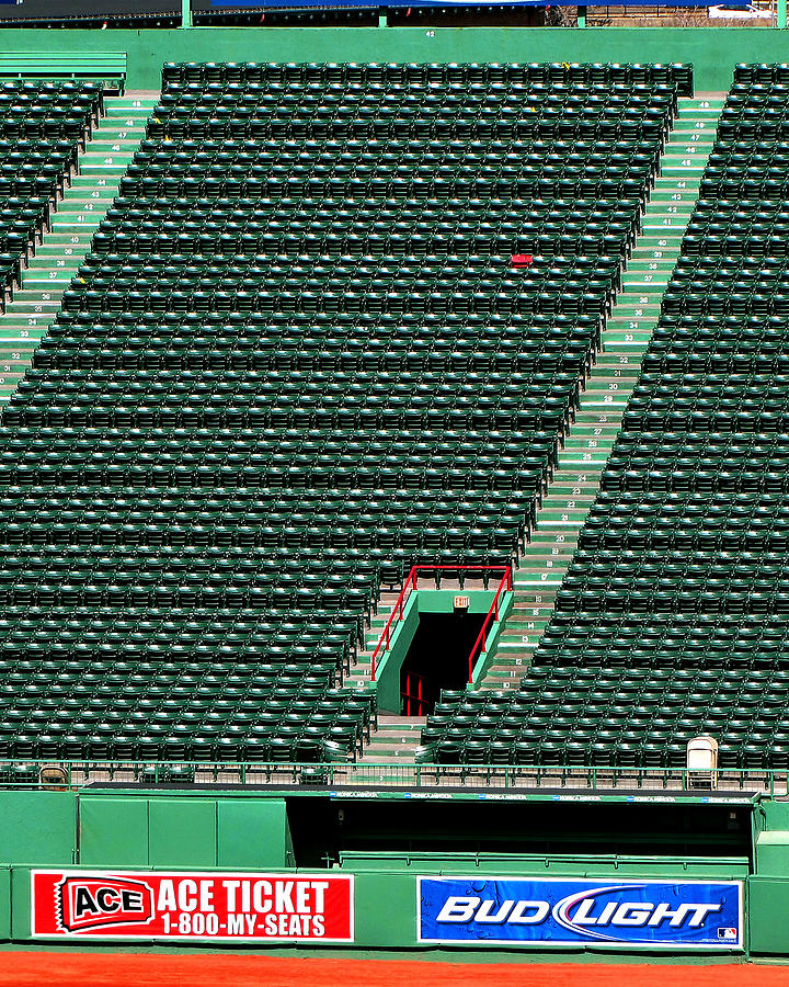 Ted's Red Seat in Context by Bart Blumberg