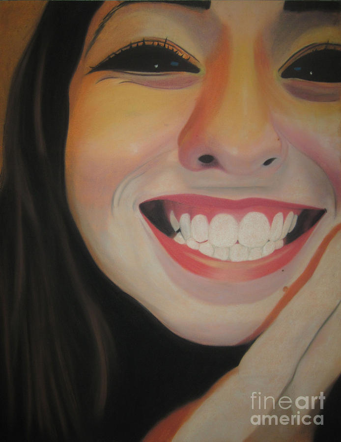 Soft Pastel Pastel - Teeth by Katie Clement