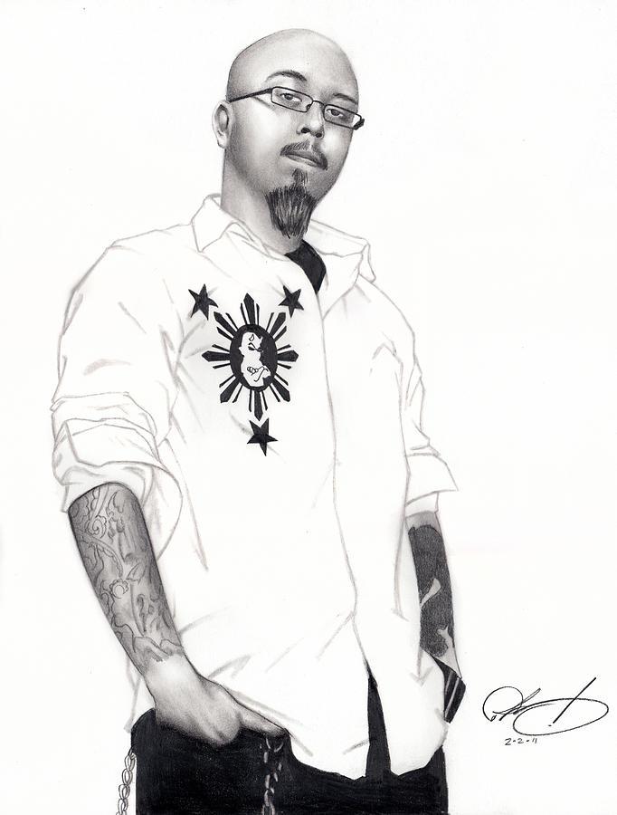 Pete Drawing - Teflon Don by Pete Tapang