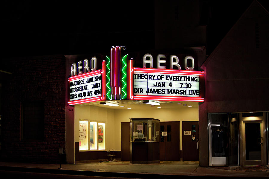 The Aero Theater by Gene Parks