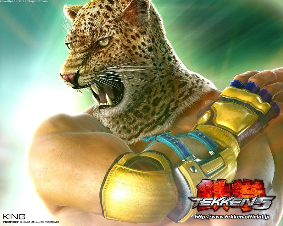 Tekken 5 by Meggi Andrew