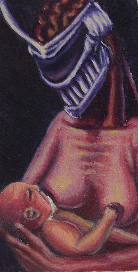 Lord Zedd Painting - Television Parent by Robert  Nugent
