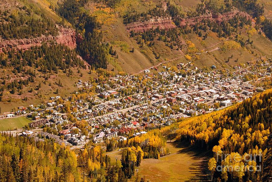 Telluride Colorado Photograph - Telluride by David Lee Thompson