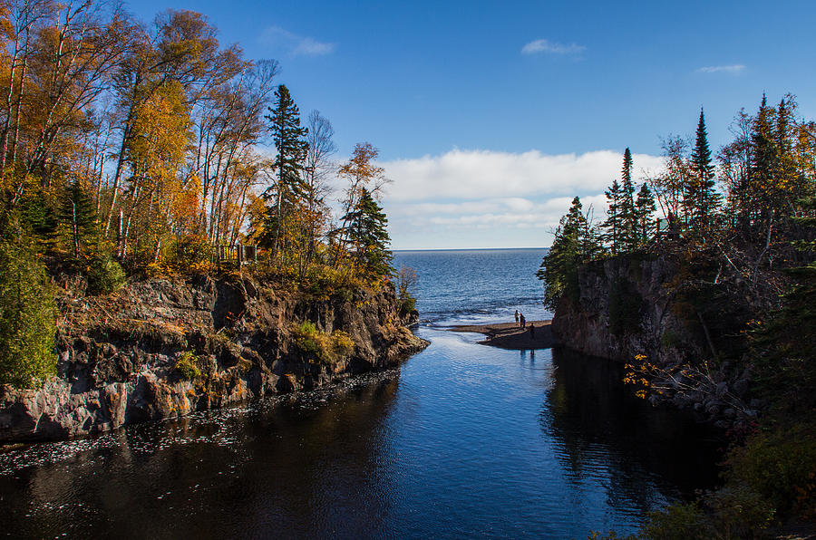 Temperance River by Shannon Kunkle