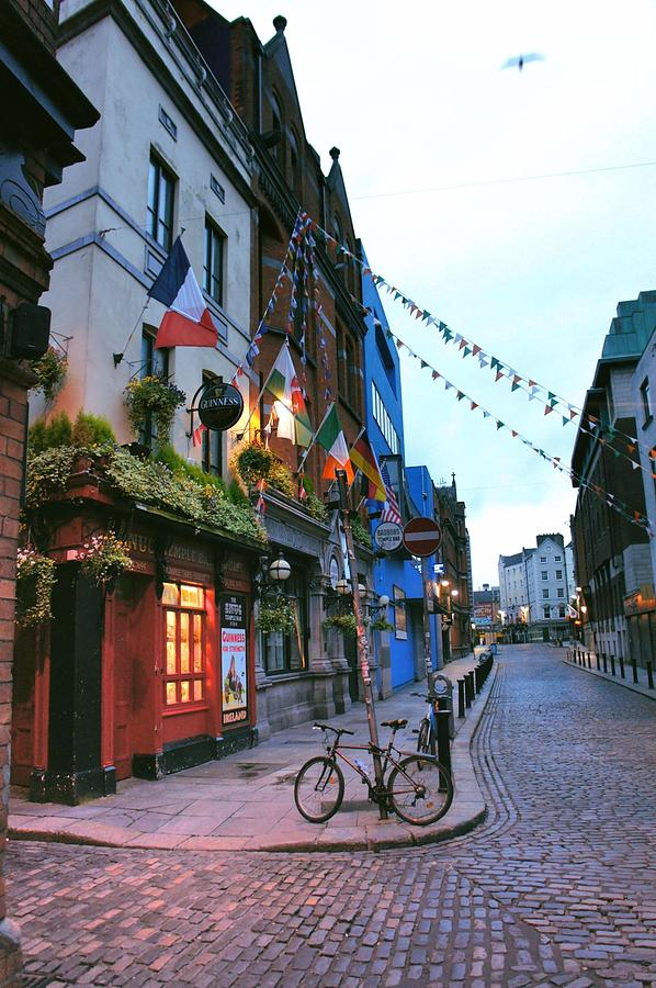 Temple Bar Dawn by Megan Ford-Miller