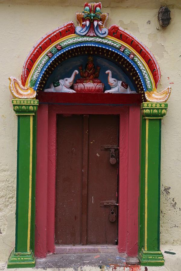 Door Photograph - Temple Door by Deepak Pawar