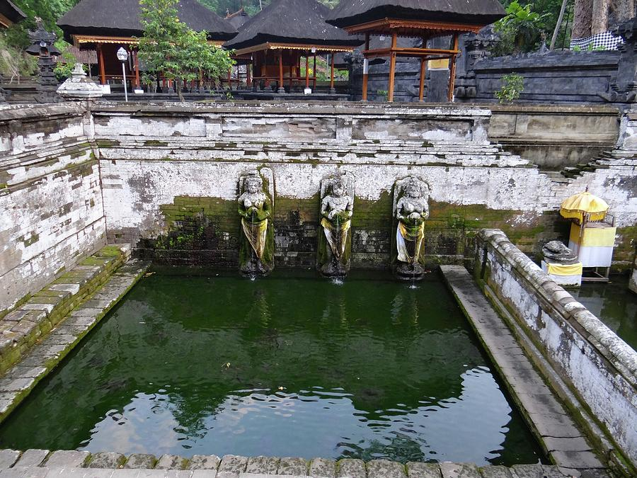 Unschooling Photograph - Temple Fountain by Exploramum Exploramum