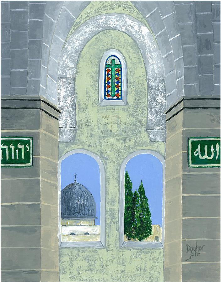 Temple Mount by Joe Dagher