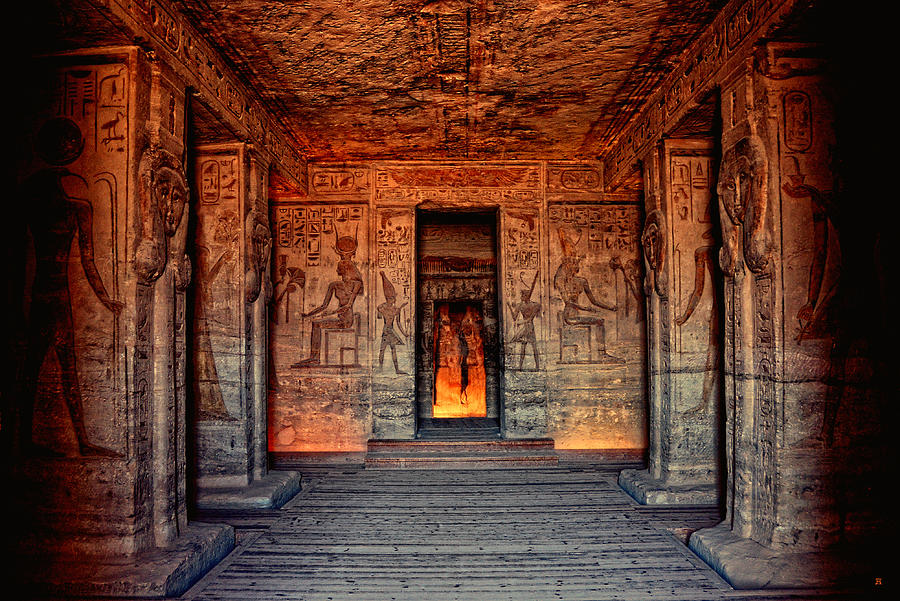 Temple of Hathor and Nefertari Abu Simbel by Nigel Fletcher-Jones