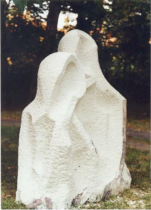 Abstract Sculpture - Temple Of Love by Vasko Vassilev