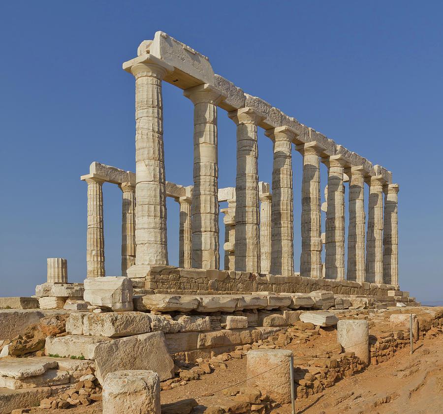 Temple of Poseidon by Ellen Henneke