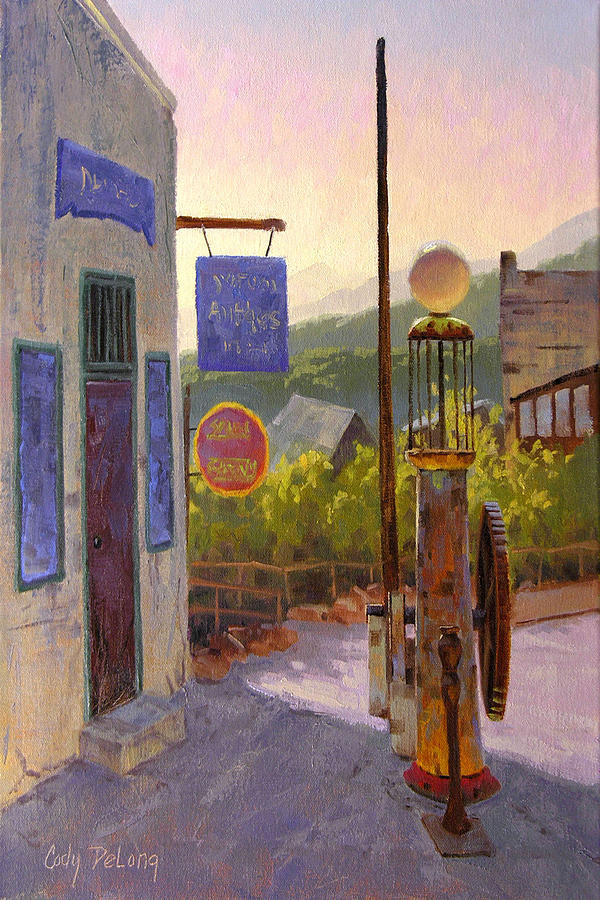 Cody Delong Painting - Ten Cents A Gallon by Cody DeLong