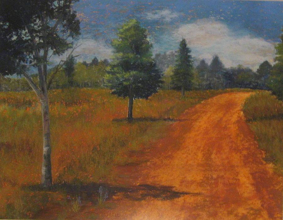 Arizona Pastel - Ten Miles To Flagstaff by Cindy Hall