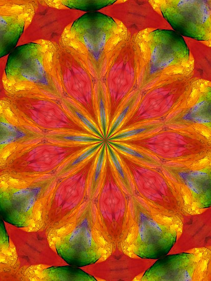 Fine Art Digital Art - Ten Minute Art 090610-a by David Lane