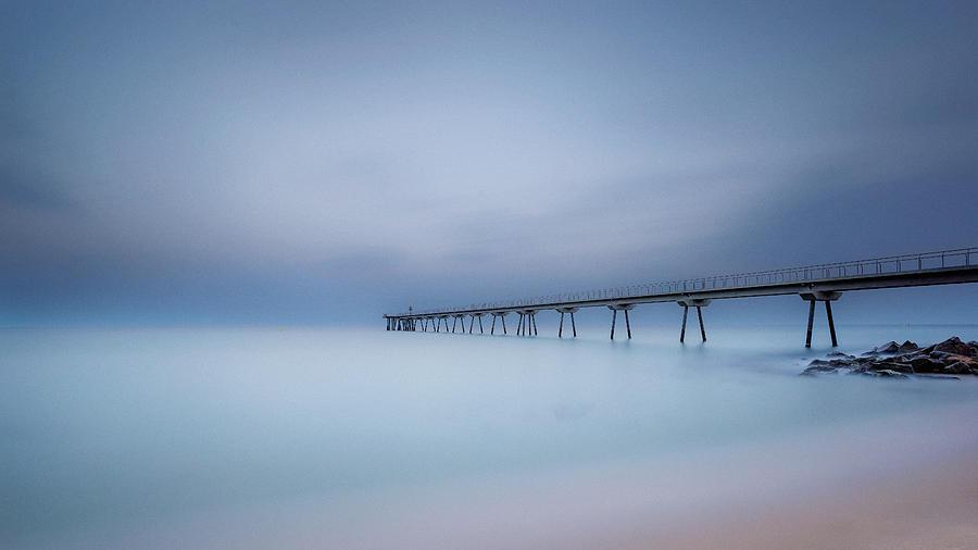 Badalona Photograph - Ten Minutes. by Jonathan Bengtsson