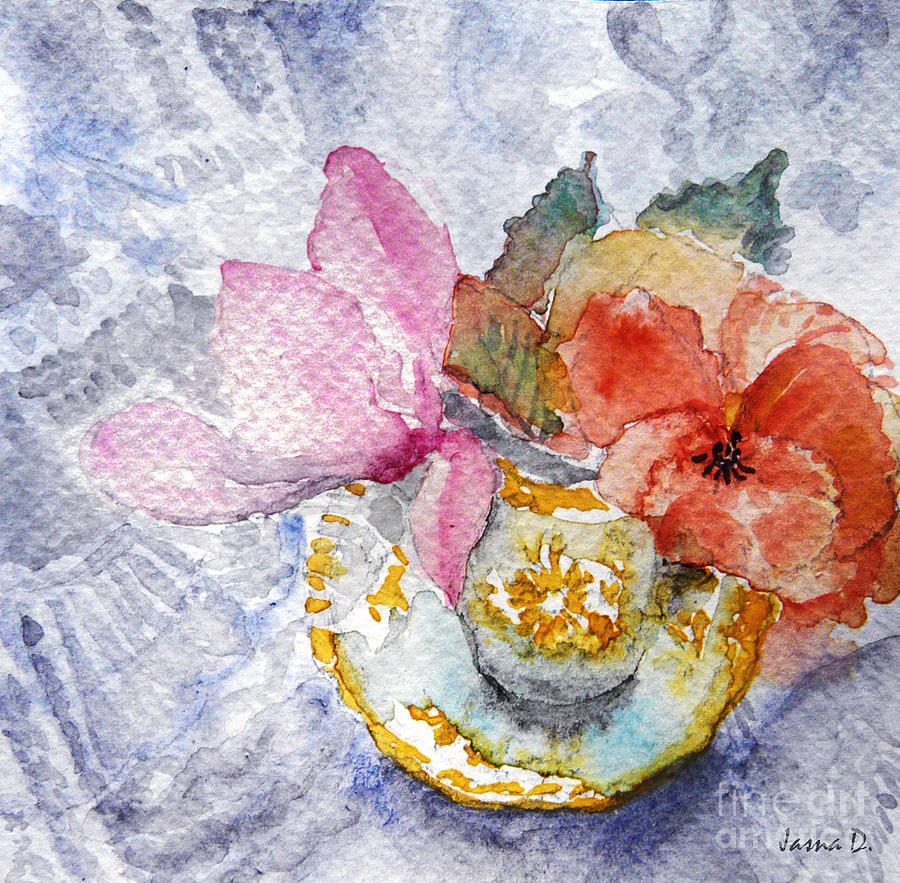 Still Life Painting - Tenderness by Jasna Dragun
