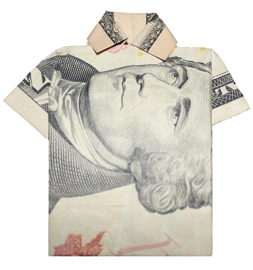 Money Photograph - Tendollar T Shirt by Kevin  Sherf