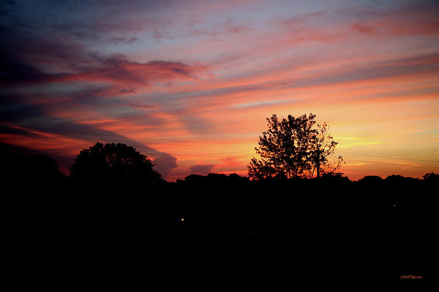 Sunset Photograph - Tennessee Sunset 305 by Ericamaxine Price