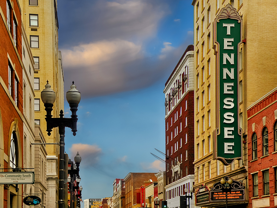 Knoxville Cityscapes Photograph - Tennessee Theatre by Steven  Michael