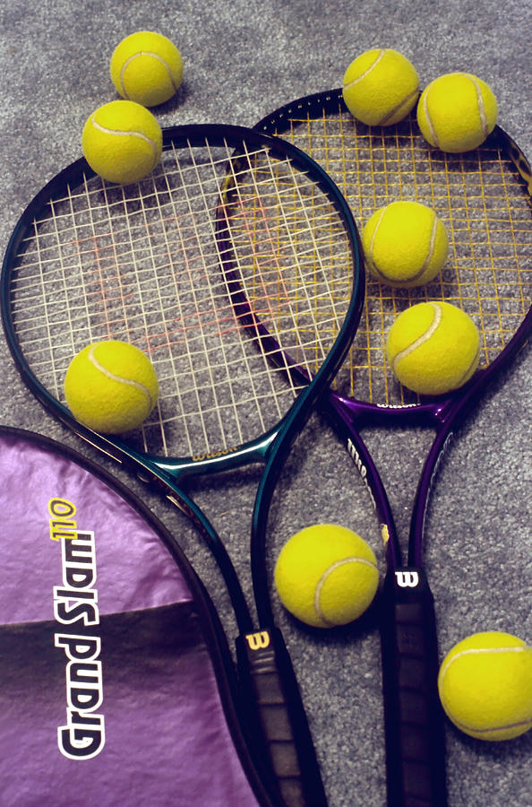 Tennis Photograph - Tennis Still Life 2 by Steve Ohlsen