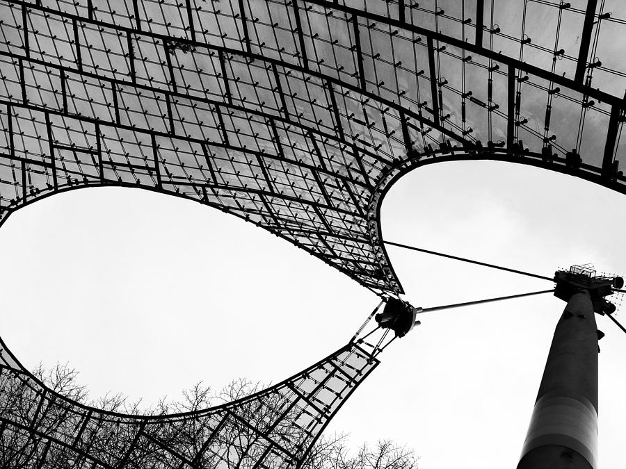 Black And White Photograph - Tensile Strength - 2 Of 3 by Alan Todd