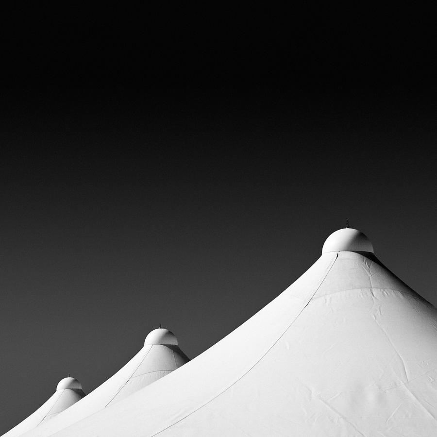 Tents Photograph - Tent Tops by Dave Bowman