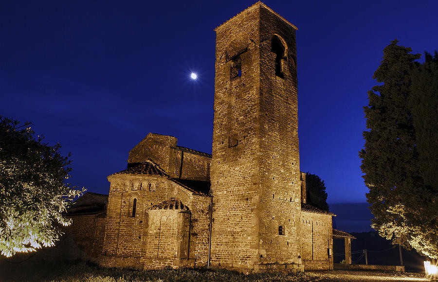 Italy Photograph - Tenth Century Church In Artimino by Rick Starbuck