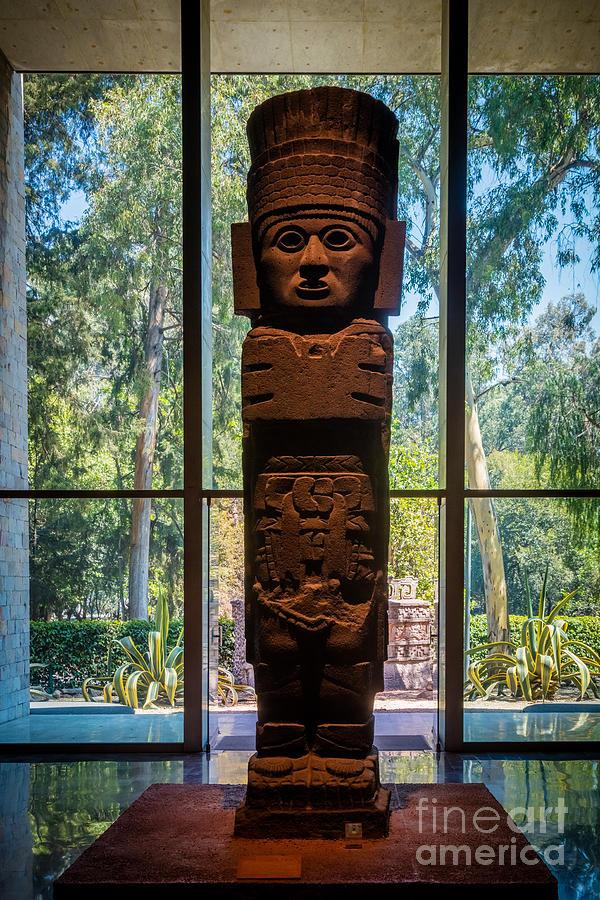 Teotihuacan Figure Photograph