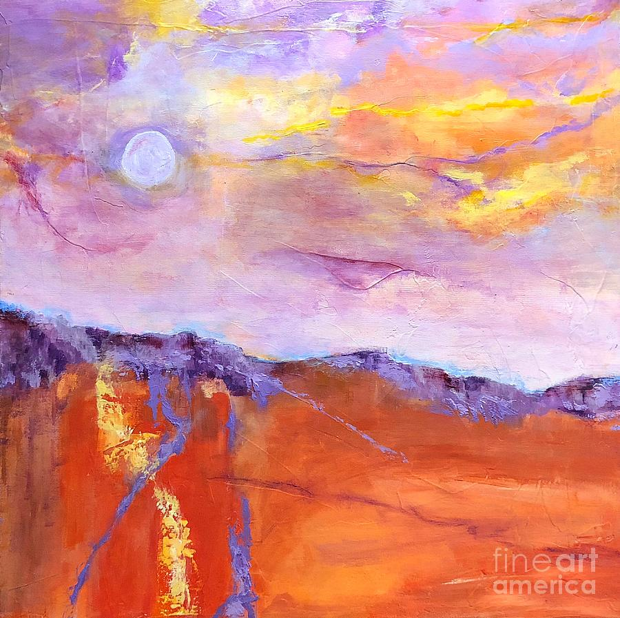 Tequila Sunset by Mary Mirabal