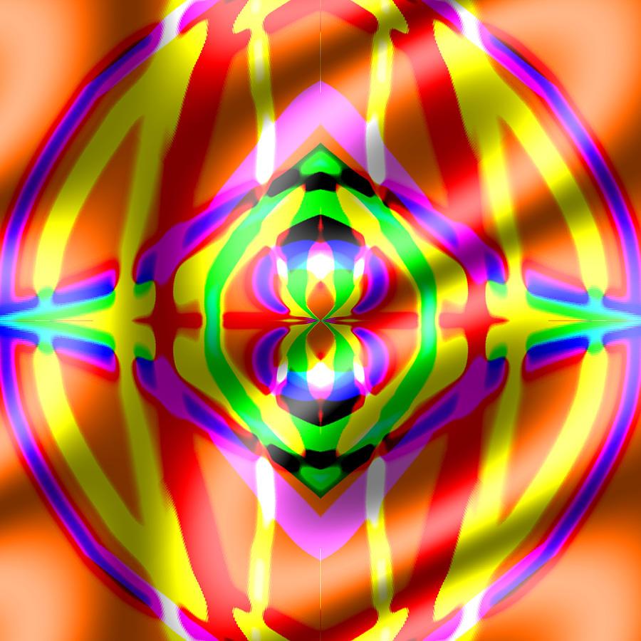 Teriya Digital Art by Blind Ape Art