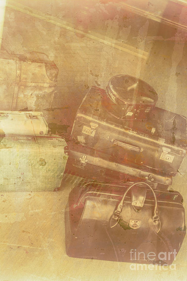 Old Photograph - Terminal Goodbye by Jorgo Photography - Wall Art Gallery