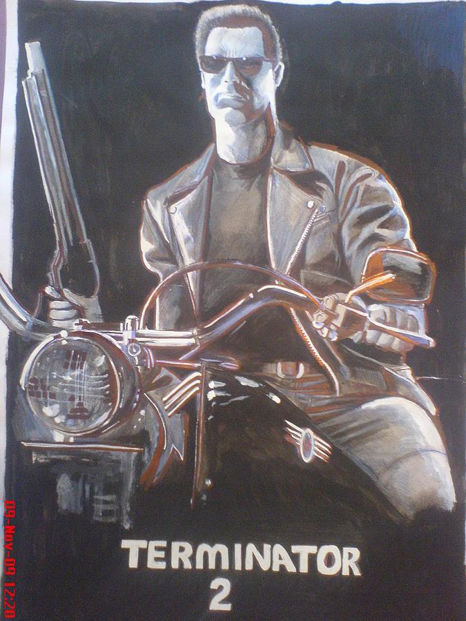 Tom Cruise Painting - Terminator 2 by Sandeep Kumar Sahota