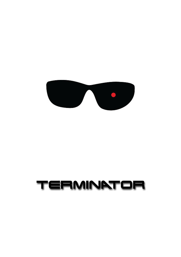 Terminator Digital Art - Terminator Poster by Chris Campbell