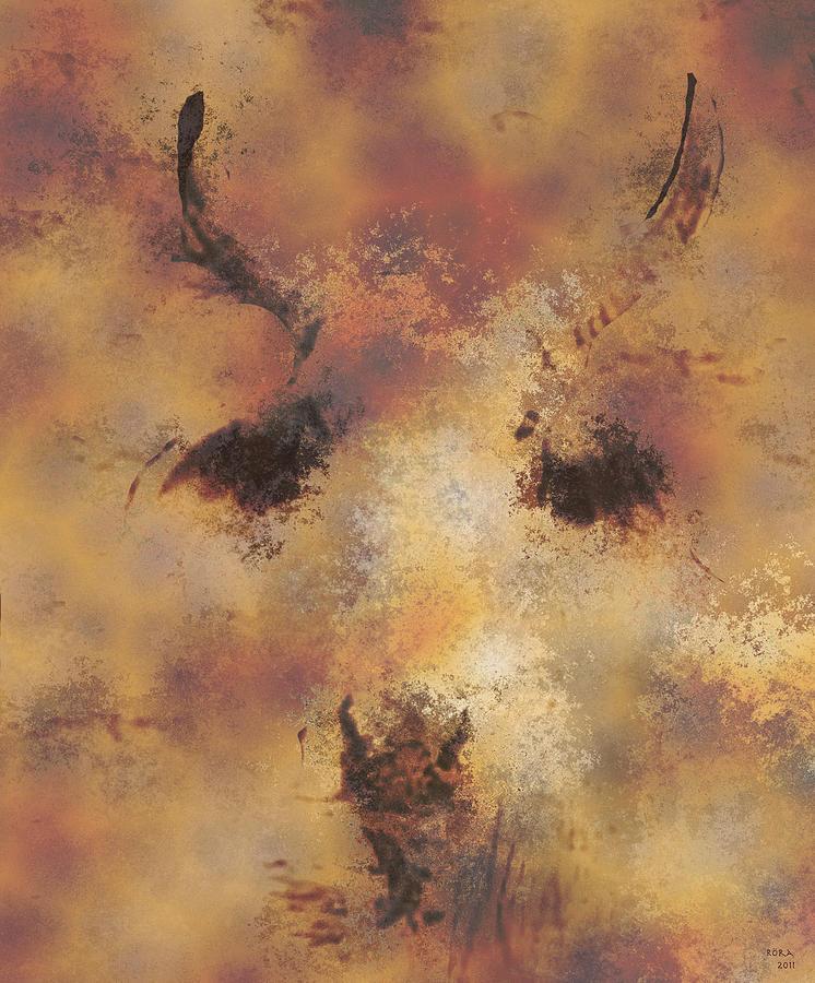 Cattle Digital Art - Terra by Rora
