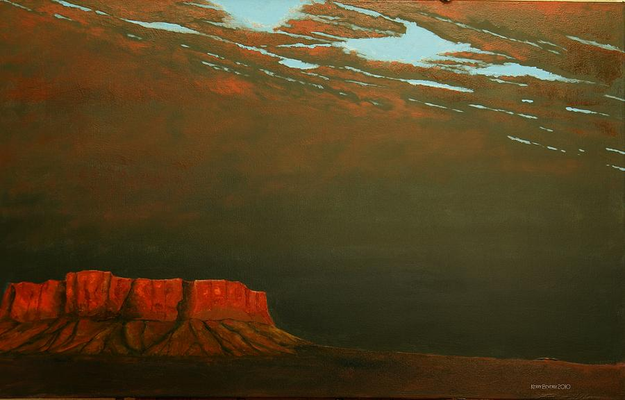 Southwest Painting - Terra Rosa by Kerry Beverly