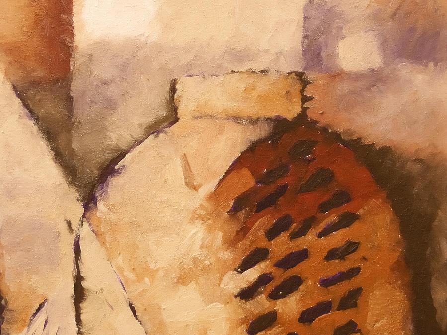 Baar Painting - Terracotta by Lutz Baar