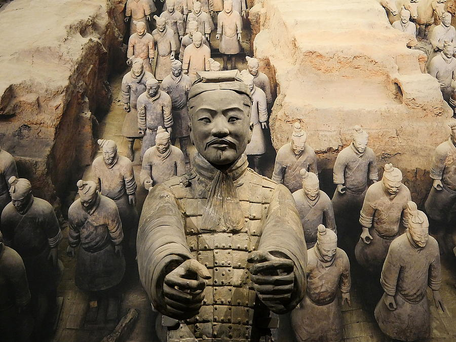 Terracotta Warrior Army Of Qin Shi Huang Di Iv Photograph By Richard
