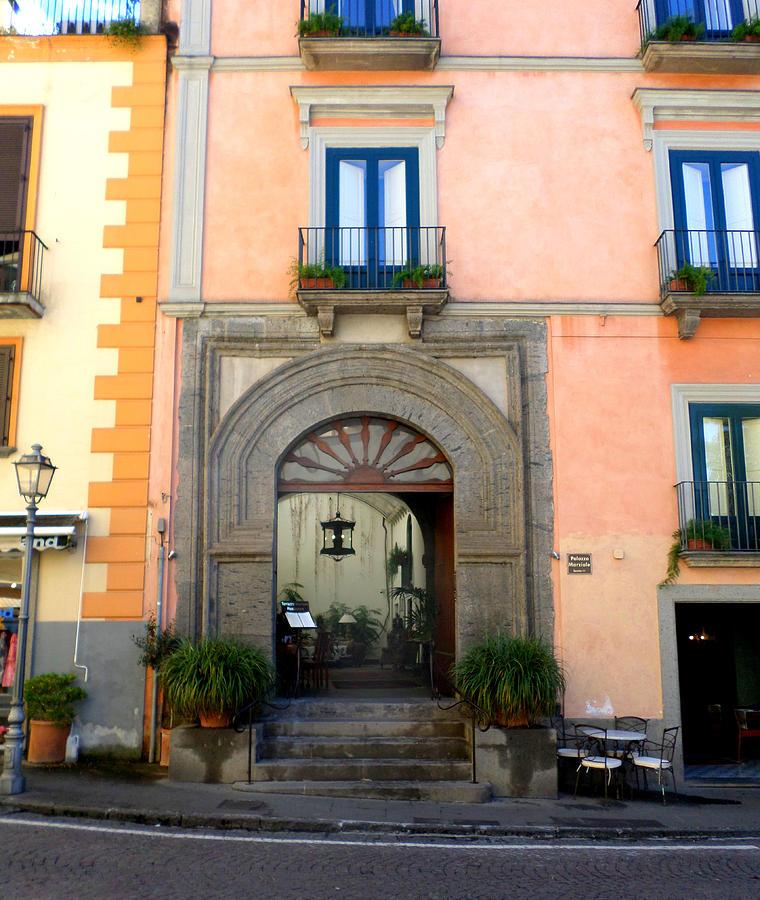 Terrazza Marziale Restaurant In Sorrento Photograph by Kristie Rocca
