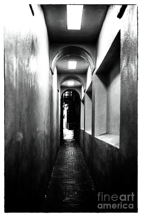 Terror Photograph - Terror Hall by John Rizzuto