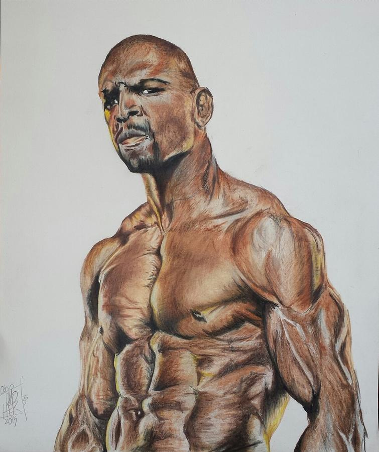 terry crews drawing by dmo herr