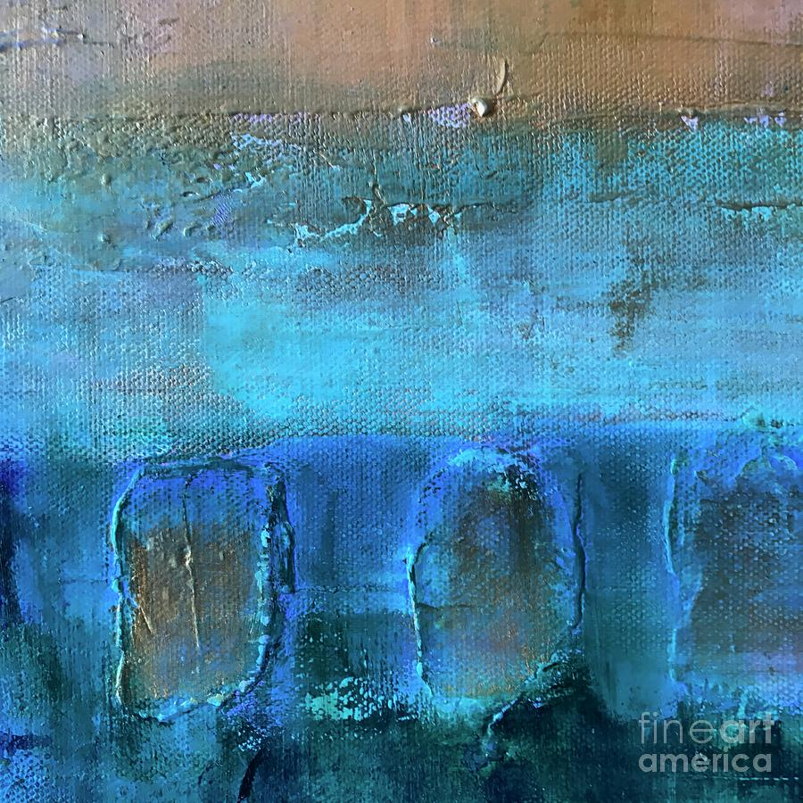 Triplets Painting - Tertiary by Kim Nelson