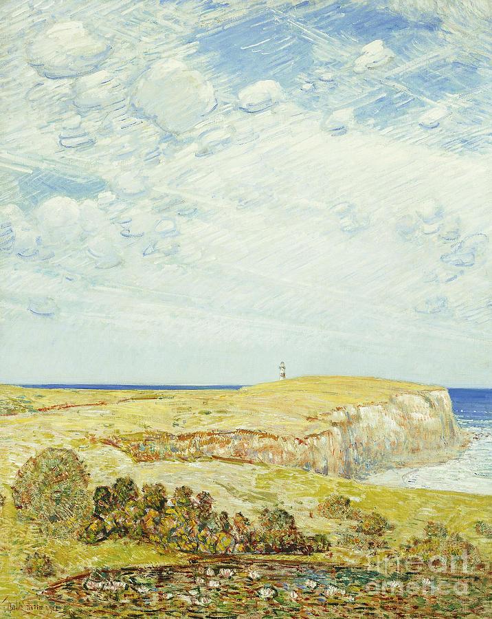 Montauk Painting - Montauk Point, 1922 by Childe Hassam