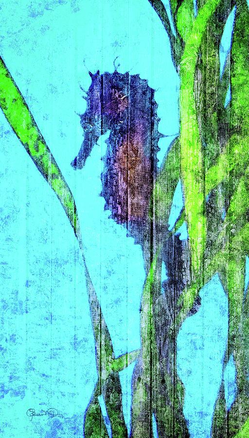 Wild Seahorse 4 by Susan Molnar